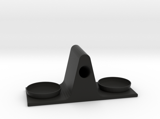 Eyeglass Stand in Black Strong & Flexible