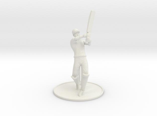 T20 Batsman  in White Strong & Flexible