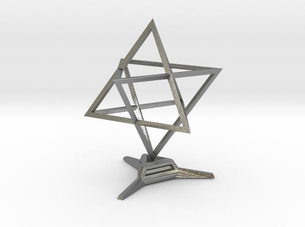 Merkaba Sharp - w Base - 4cm 3d printed