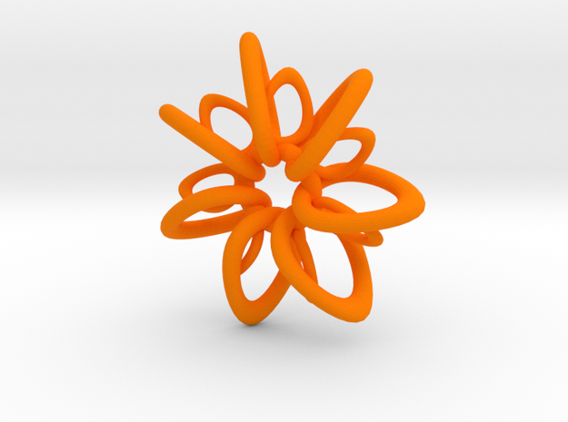 RingStar 7 points - 4cm 3d printed