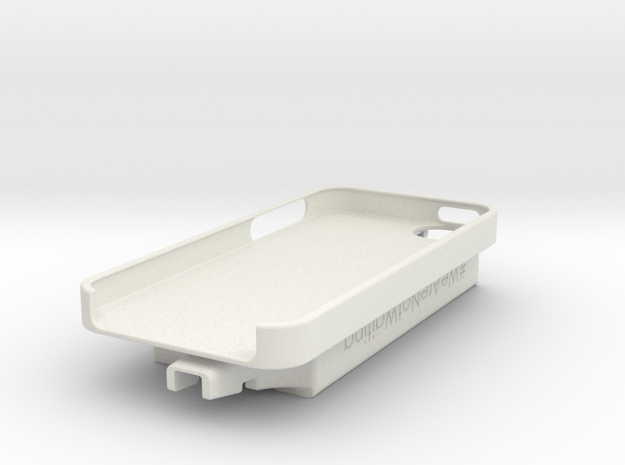iPhone 5 / Dexcom Case - NightScout or Share in White Natural Versatile Plastic