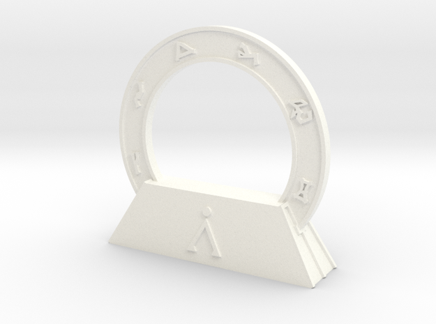 Abydos Stargate with Orion Nebula 3d printed