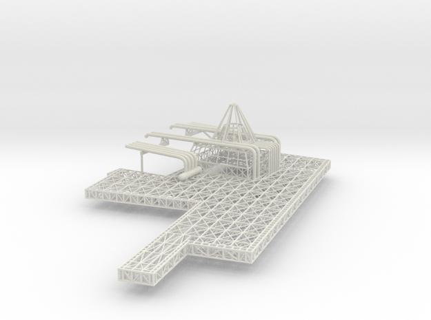 Stern Deck Upper Stbd V0.11 in White Natural Versatile Plastic