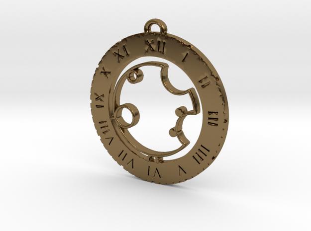 Ashton - Pendant in Polished Bronze