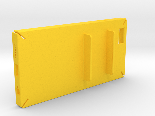 Holding Frisk iPhone6 4.7inch case in Yellow Processed Versatile Plastic