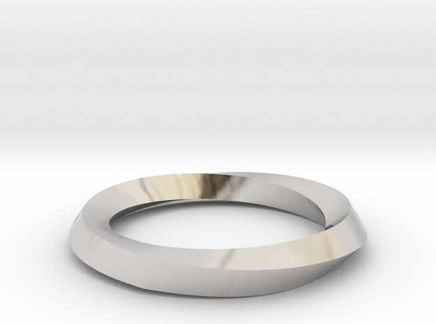Mobius Wedding Ring-Size 4