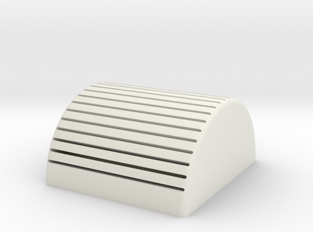 Card Holder in White Natural Versatile Plastic