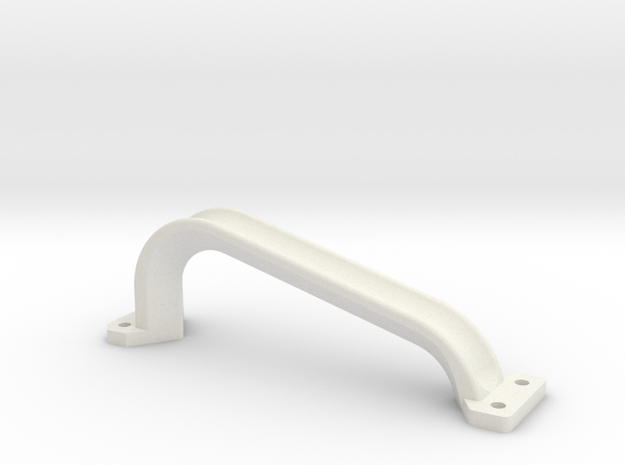 Handgreep Constructam in White Natural Versatile Plastic