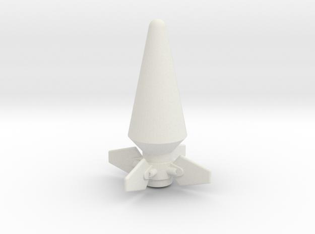 JK Rocket Top in White Strong & Flexible