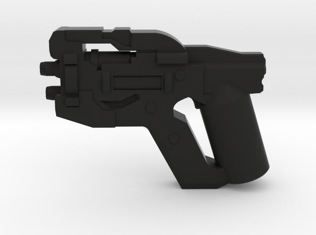 Scatter Pistol in Black Natural Versatile Plastic