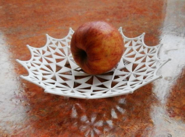 Klein Quartic Fruit Bowl