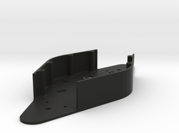 Paddle Assembly- Enclosure in Black Natural Versatile Plastic