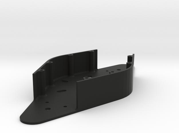 Paddle Assembly- Enclosure in Black Natural Versatile Plastic