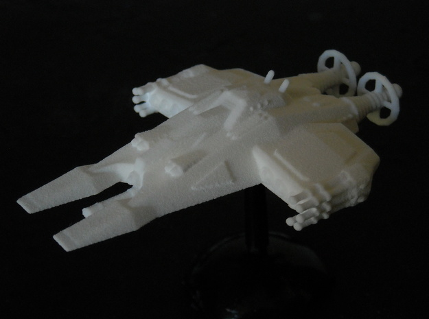 MG144-JAL08 Scovocsper VTOL Attack Fighter 3d printed
