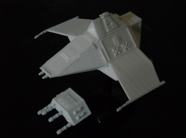 MG144-Aotrs02 Gloombat Multirole Attack Craft 3d printed