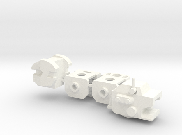 Deluxers Robot Upgrade Sets 3d printed