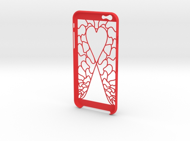IPhone 6 Love in Red Strong & Flexible Polished