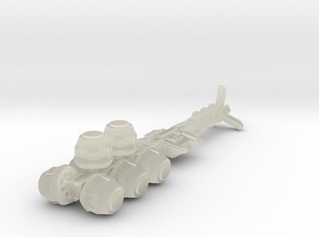 Rift Mk2 Bulk Transport - 1:20000 scale in Transparent Acrylic