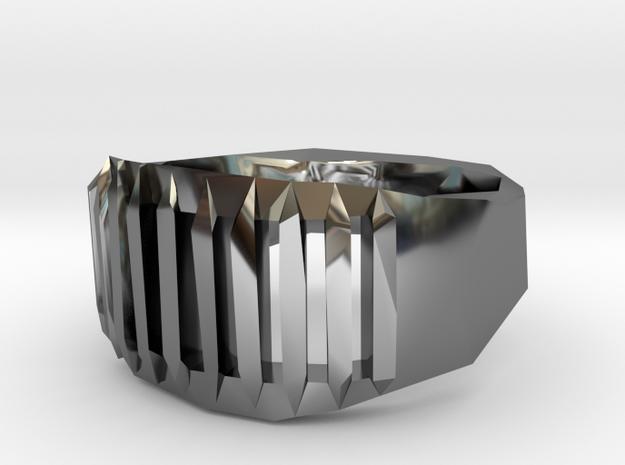Judge ring: size 9 (US) S (UK) 3d printed