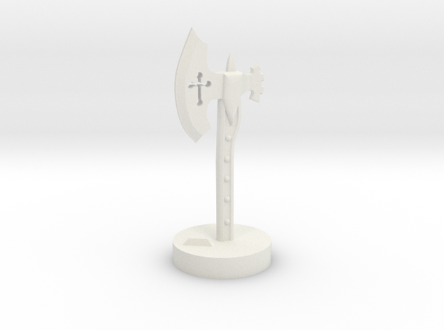 Role Playing Counter: Waraxe 3d printed