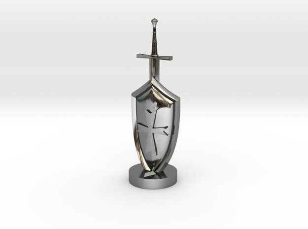 Role Playing Counter: Sword & Shield 3d printed