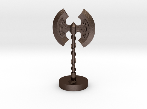Role Playing Counter: Greataxe 3d printed
