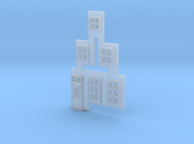 Gevel 1 in schaal Z, hiervan de ramen in Smooth Fine Detail Plastic