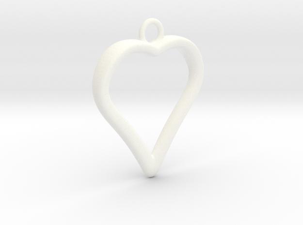 Heart 001 3d printed