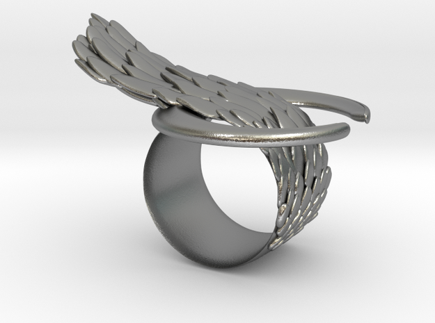 """The """"Bind"""" ring in Raw Silver"""