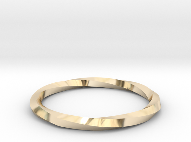 Nurbs Wedding Ring--Size 7.75 in 14K Gold