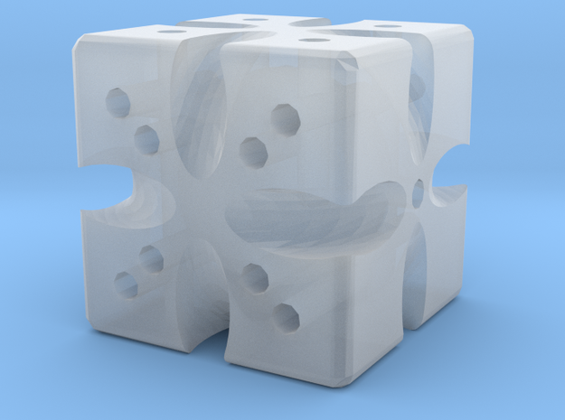 Dice65 in Smooth Fine Detail Plastic