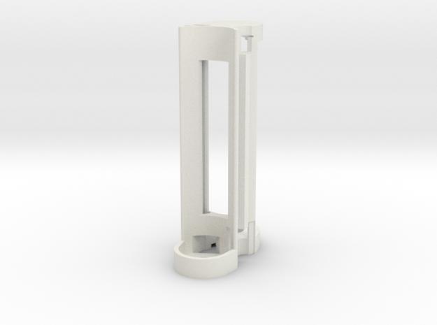 Mechanical Internal Frame V1a in White Strong & Flexible