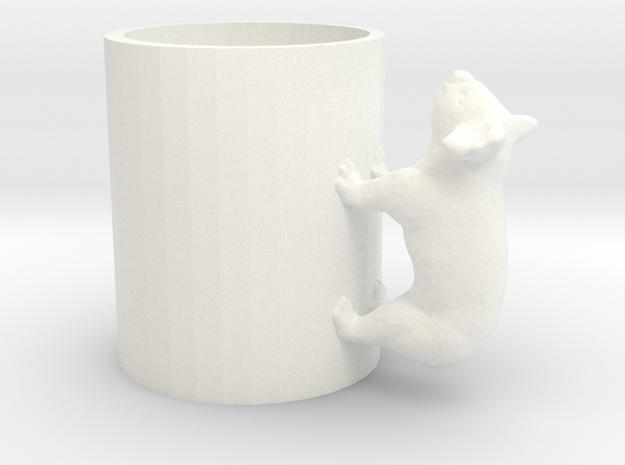 Koala Cup-porcelain Shapeways Test