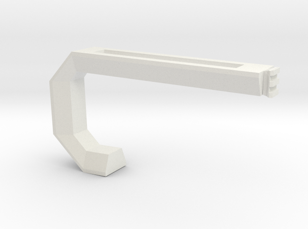 Proton XB-10 Shoulder Stock in White Natural Versatile Plastic