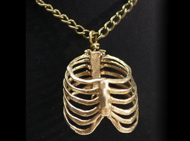 Ribcage Pendant or Finger Ring - 17mm ID