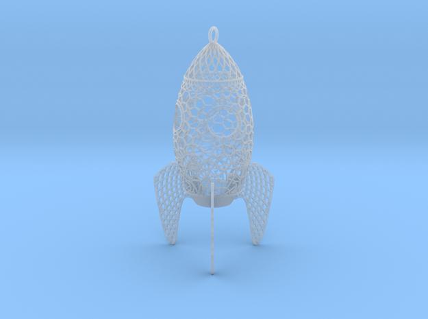 Rocket Filigree Ornament