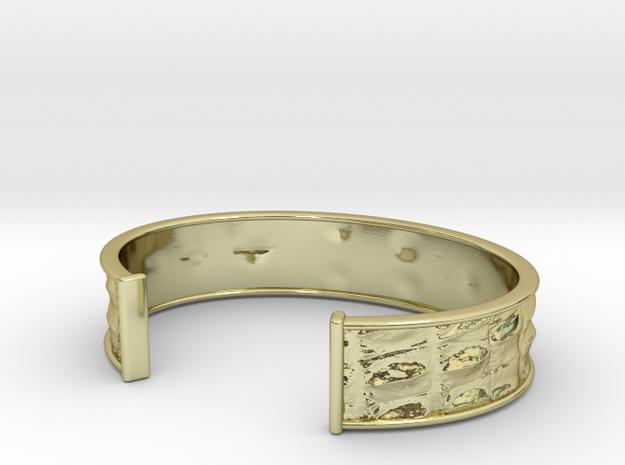 Gator 16cm Bracelet (small) 3d printed