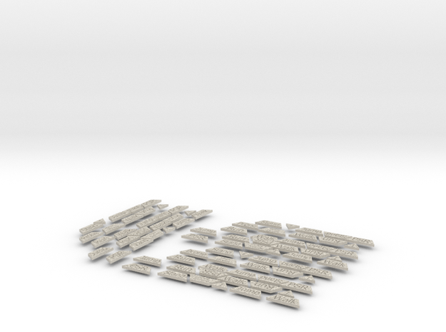 Mecha Counters - Company Pack in Natural Sandstone