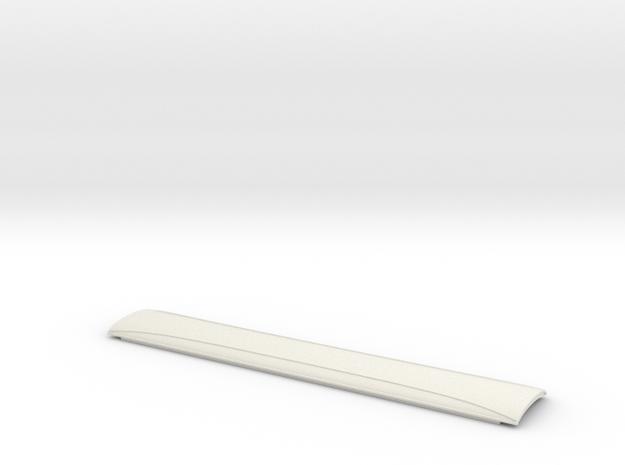 BPR0501 GCR 50' Corridor Roof in White Natural Versatile Plastic