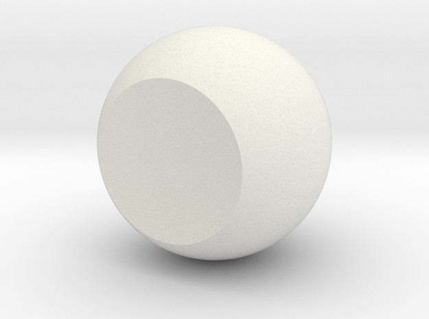 Single Orb in White Strong & Flexible