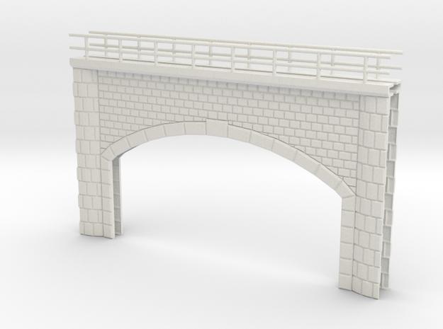 Bridge portal in White Natural Versatile Plastic