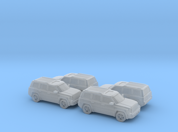 Jeep Patriot 1:160 4x 3d printed