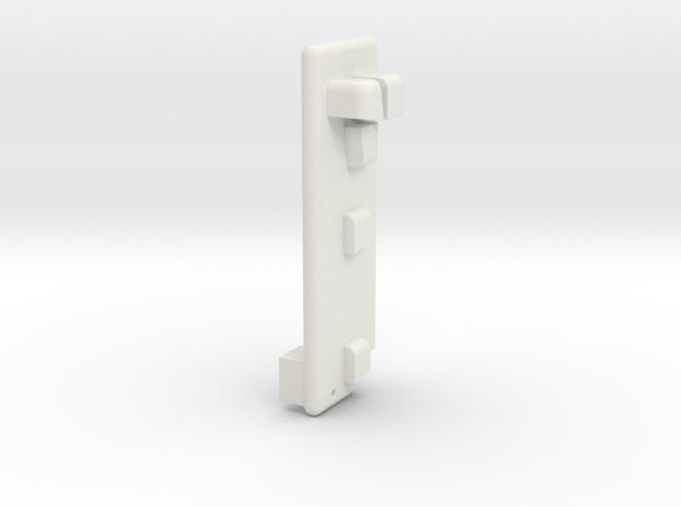 HeadTracking CAM_Assembling Tool in White Natural Versatile Plastic