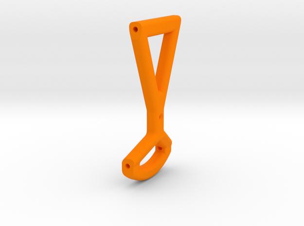 Blackout Tilt Mount in Orange Processed Versatile Plastic