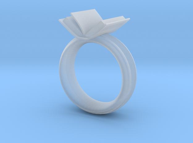 Book ring(USA 6.5,Japan 12, Britain M)