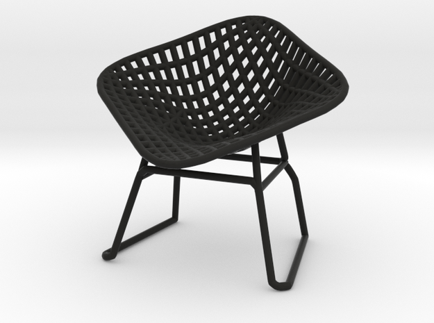 Diamond Wire Mesh Chair (1:24 Scale)