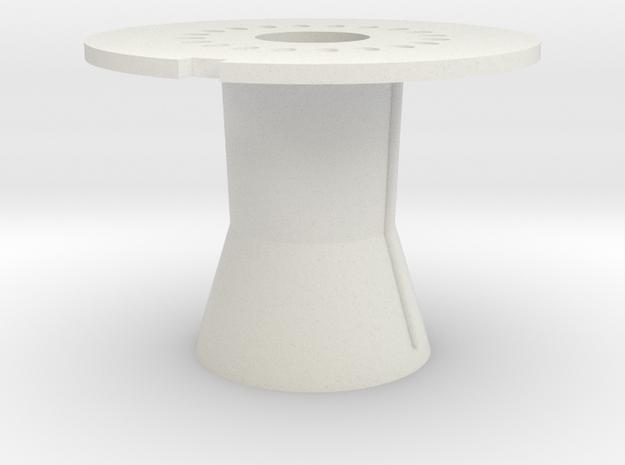 03-Moteur 1er étage in White Natural Versatile Plastic