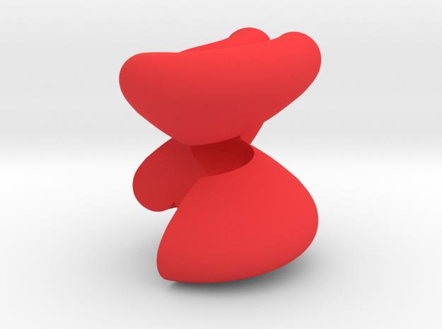 HeartForever in Red Processed Versatile Plastic