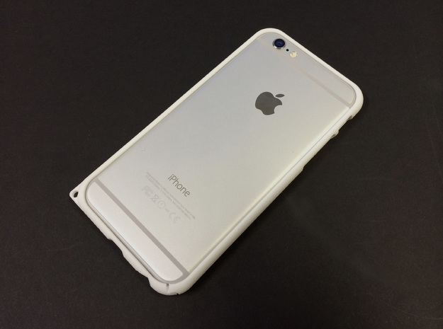 Bumper for iPhone6 4.7inch  in White Natural Versatile Plastic