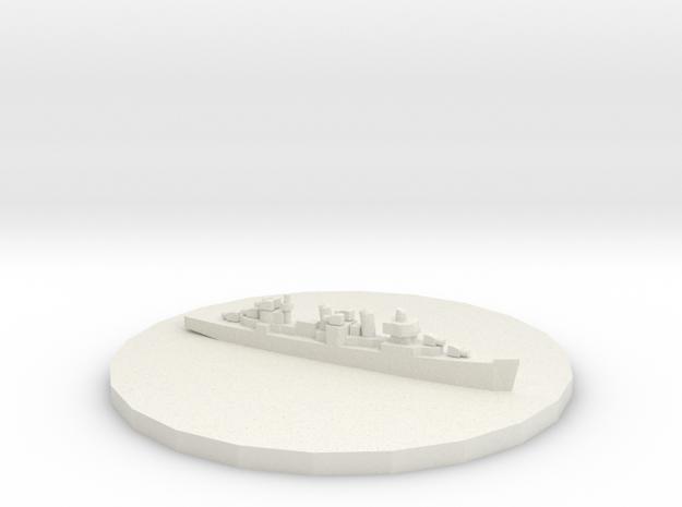 Destroyer Token in White Strong & Flexible